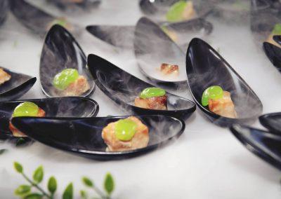 Catering Marlo Albacete y Cuenca para que puedas disfrutar de tu evento - Entrantes - Nitrógeno Liquido
